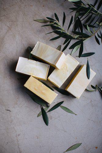 Pastillas de jabon de castilla natural