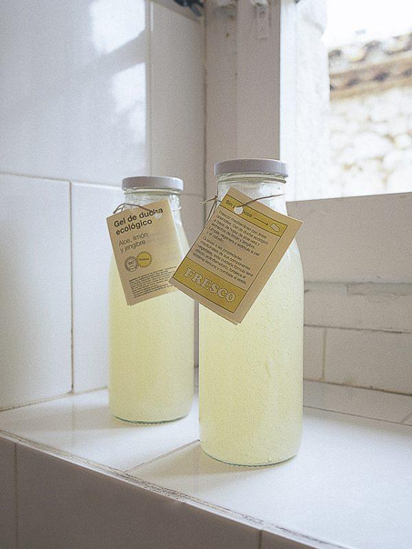 gel ecologico de limon y jengibre